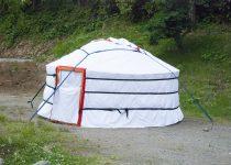 パオ型テントが増えました!